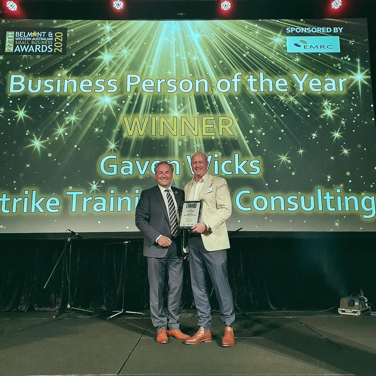 EMRC congratulates winner of prestigious Business Person of the Year
