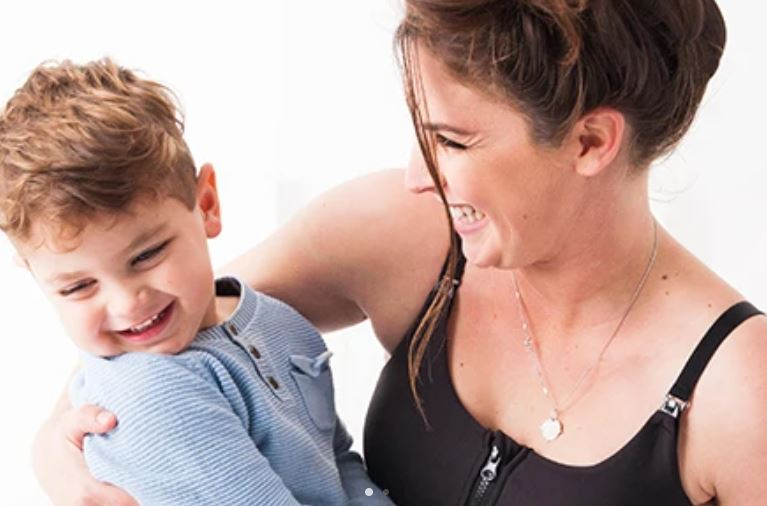 Stylish activewear brand for new mums goes global