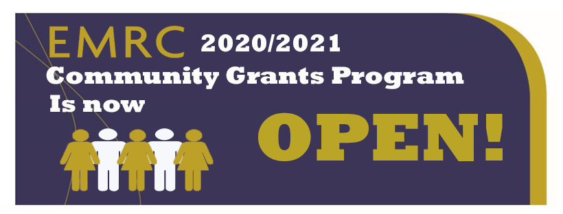 EMRC doubles amounts available to 2020/2021 Community Grants Program